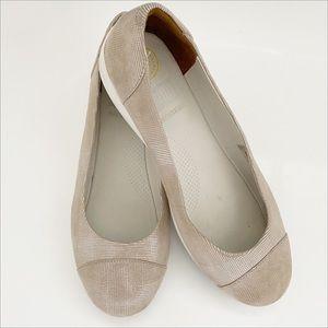 FITFLOP FF2 Metallic Ballerina Flat